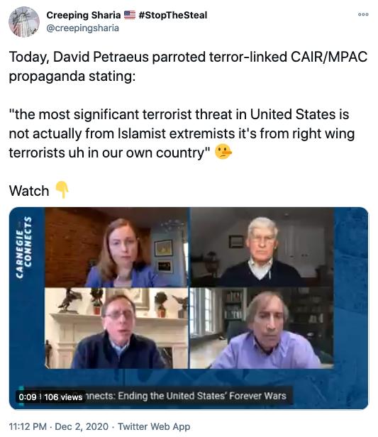 Petraeus Joins The Rest