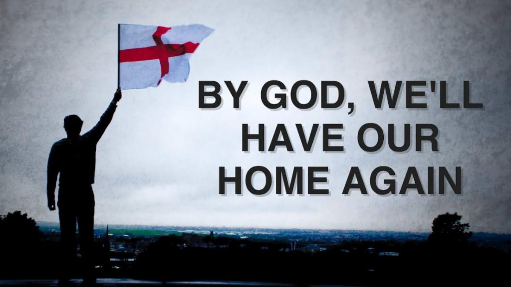 by god, our home again