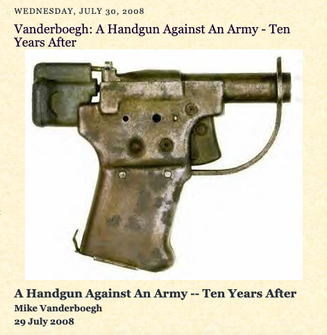 Handgun vs army